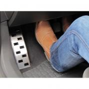 Nerezová opierka na nohu - Toyota Aygo, 2005r.- 4/2014r. (25241)