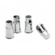 Chrómové čapičky na ventily, 4ks (4006979)