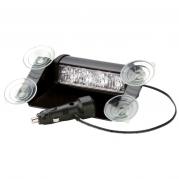 Interiérové výstražné LED svetlo, 4x LED, oranžové 3611A (TSS-3611A)