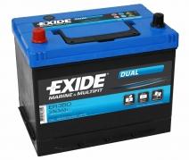 Trakčná batéria EXIDE DUAL, 80Ah, 12V, ER350 (ER350)