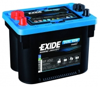 Trakčná batéria EXIDE DUAL AGM, 50Ah, 12V, EP450 (EP450)