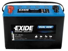 Trakčná batéria EXIDE DUAL AGM, 100Ah, 12V, EP900 (EP900)
