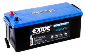 Trakčná batéria EXIDE DUAL AGM, 180Ah, 12V, EP1500 (EP1500)