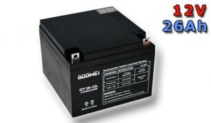 Trakčná batéria Goowei AGM OTL26-12, 26Ah, 12V (E4779)