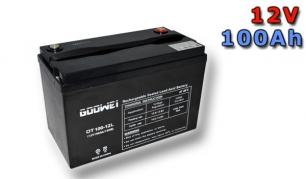 Trakčná batéria Goowei AGM OTL100-12, 100Ah, 12V (E4781)