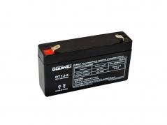 Staničná (záložná) batéria Goowei OT1,3-6, 1,3Ah, 6V (E5195)
