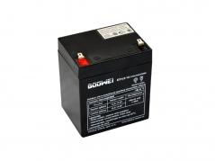 Staničná (záložná) batéria Goowei OT4,5-12, 4,5Ah, 12V (E5202)