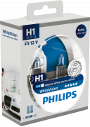 Philips WhiteVision H1 12V Box 2ks + 2ks W5W (26070-1)