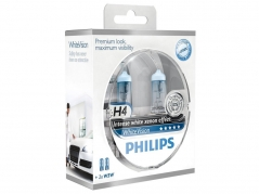 Philips WhiteVision H4 12V Box 2ks + 2ks W5W (26070-1-1)