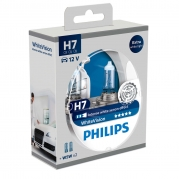 Philips WhiteVision H7 12V Box 2ks + 2ks W5W (26070-1-1-1)