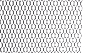 Hliníková mriežka čierna (AM-9713)