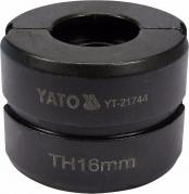 Náhradné čeľuste k lisovacím kliešťom YT-21735 typ TH 16 mm (YT-21744)