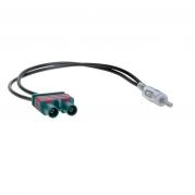 Anténny adaptér DIN m, 2x Fakra m, Volvo AA-784 (TSS-AA-784)