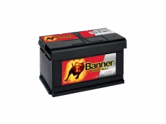 Autobatéria Banner Power Bull P8014, 80Ah, 12V (P8014)