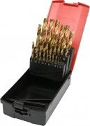 Sada vrtákov na kov HSS-TiN 25ks 1-13mm (YT-44676)
