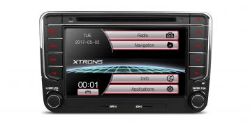 2 DIN autorádio pre VW, Seat, Škoda Xtrons PF73MTV (X_PF73MTV)
