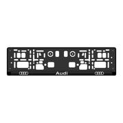 Podložka ŠPZ 3D - AUDI 2ks (P102P)