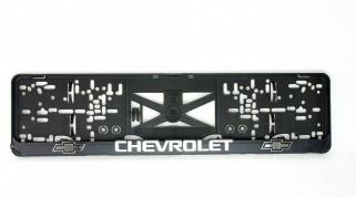 Podložka ŠPZ 3D - CHEVROLET 2ks (P111P)