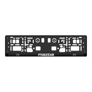 Podložka ŠPZ 3D - MAZDA 2ks (P117P)