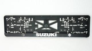 Podložka ŠPZ 3D - SUZUKI 2ks (P127P)