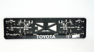 Podložka ŠPZ 3D - TOYOTA 2ks (P131P)