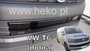 Zimná clona VW Caravelle, Transporter T6 od r. 2015 --> dolná (04054)