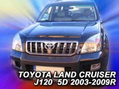 Kryt prednej kapoty - Toyota Land Cruiser J120, 2003r. - 2009r. (02131)