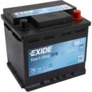 Autobatéria EXIDE Start-Stop EFB 55Ah, 12V, EL550 (EL550)