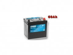 Autobatéria EXIDE Start-Stop EFB 60Ah, 12V, EL604 (EL604)