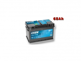 Autobatéria EXIDE Start-Stop EFB 65Ah, 12V, EL652 (EL652)
