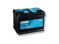 Autobatéria EXIDE Start-Stop EFB 70Ah, 12V, EL700 (EL700)