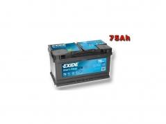 Autobatéria EXIDE Start-Stop EFB 75Ah, 12V, EL752 (EL752)