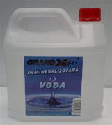 Voda demineralizovaná Grand X   3L (GXvoda004)