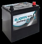 BJORN batterie AZIA 12V/60Ah P  (BA0600) (BjornBA0600)