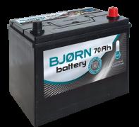 BJORN batterie AZIA 12V/70Ah P  (BA0700) (BjornBA0700)