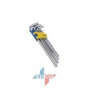 Kľúče imbus 9ks 1,5-10mm KINZO (8711252719061)