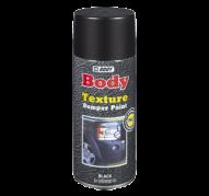 HB BODY bumper texture - textúrovaná farba na plasty v  spreji šedá 400ml (HB_0165)
