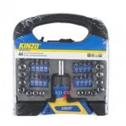 Skrutkovač Kinzo PVC Box 44ks (8711252542072)