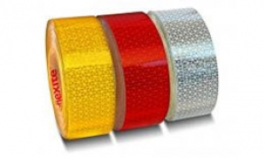 Reflexná páska EHK104 50mmx50m červená pevná (85863605)