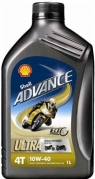 Shell Advance Ultra 4T 10W-40, 1L (sk1035 )