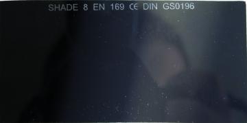 Filter zváračský 50 x 100 mm typ E-8 (YT-74452)