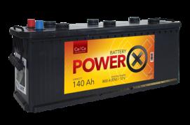 PowerX  12V/140 Ah (úzka) (PX1401)