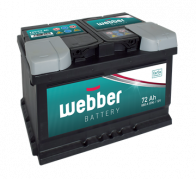 WEBBER   12V/72 Ah (WA0720)