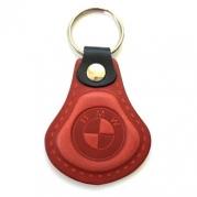 Kožená kľúčenka BMW červená (AUTO123-924-893)