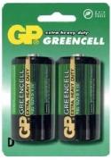 Batéria GP 13G R20 BL 1,5V (veľké mono, D) 2ks v balení (B1241)