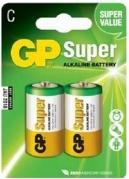 Batéria GP 14AU R14 BL 1,5V (malé mono, C) 2ks v balení (B1931)
