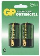 Batéria GP 14G R14 BL 1,5V (malé mono, C) 2ks v balení (B1231)