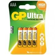 Batéria GP 24AU R03 BL 1,5V (mikrotužka, AAA)  4ks v balení (B1911)