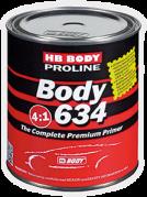 HB BODY PRIMER 634 4:1 plnič šedý 0,8L (HB_0372)