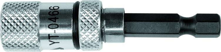 """Držiak na vŕtačku 1/4"""" 60 mm magnetický (YT-0466)"""